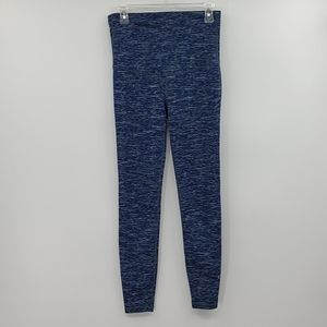 Gap gfast maternity blue space dye leggings.